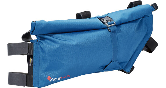 Acepac Roll Frame Bag Sykkelvekse L Blå/Svart